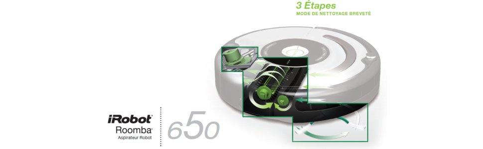 roomba 650 robot aspirateur