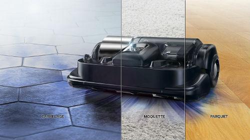 Robot aspirateur samsung nettoie toute surface